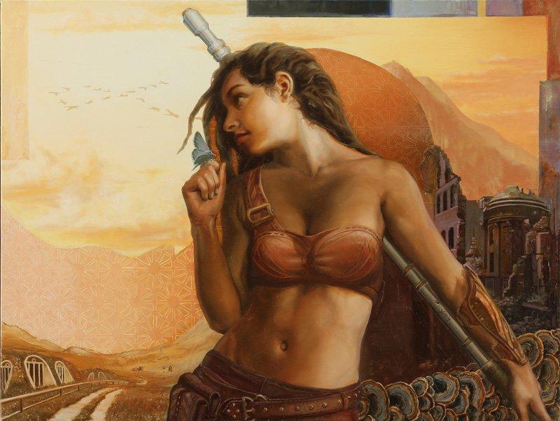 We Fight On | Visionary Art | Inspiring Art