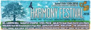 harmony festival banner