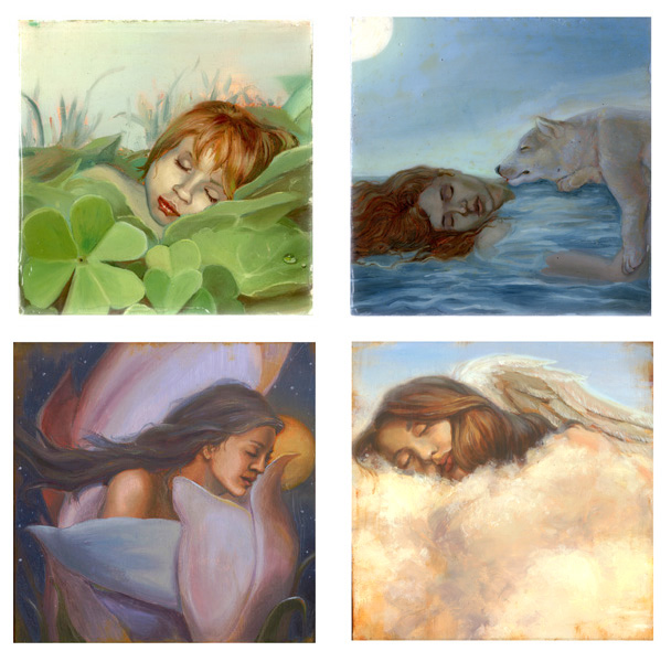 Sleepies Beauties- Sleeping Fairies