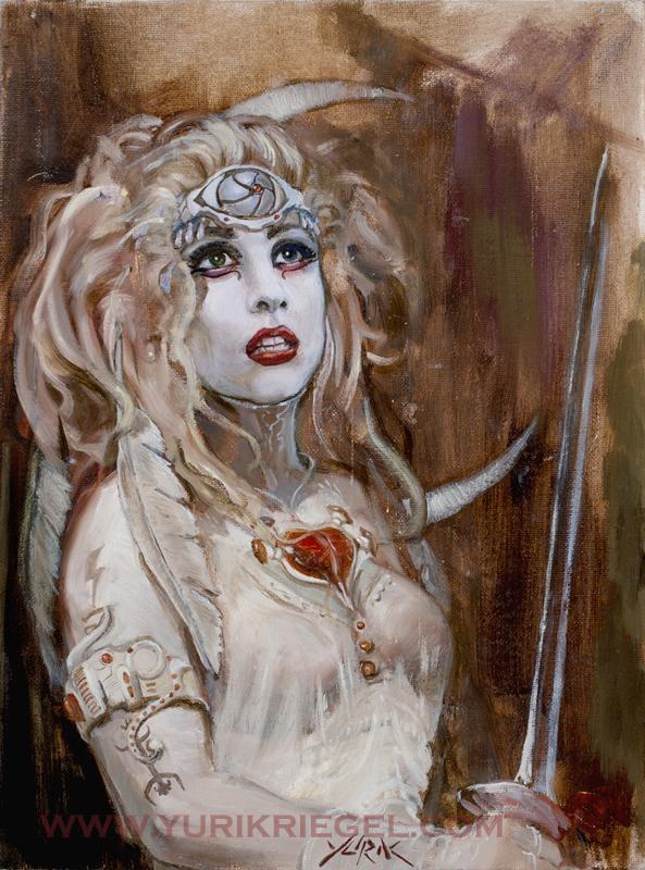 Lady Gaga Warrior Queen