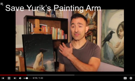 Fundraiser to Take things to the next level and fix my painting arm