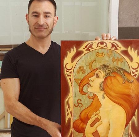 SEE MY ORIGINAL ARTWORK IN BERKELEY!