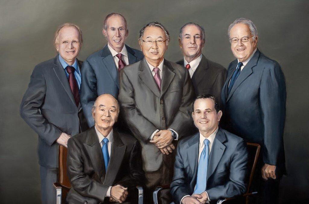 Seven Man Portrait