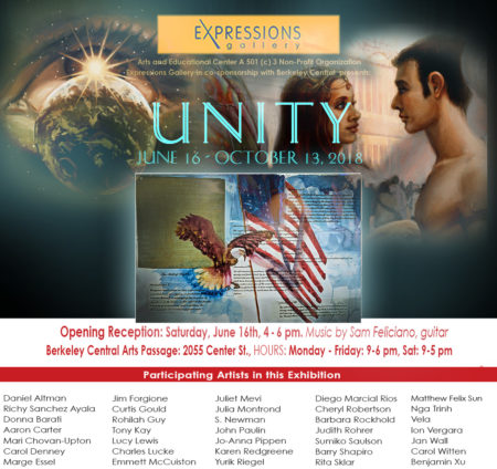 UNITY GROUP SHOW in Downtown Berkeley